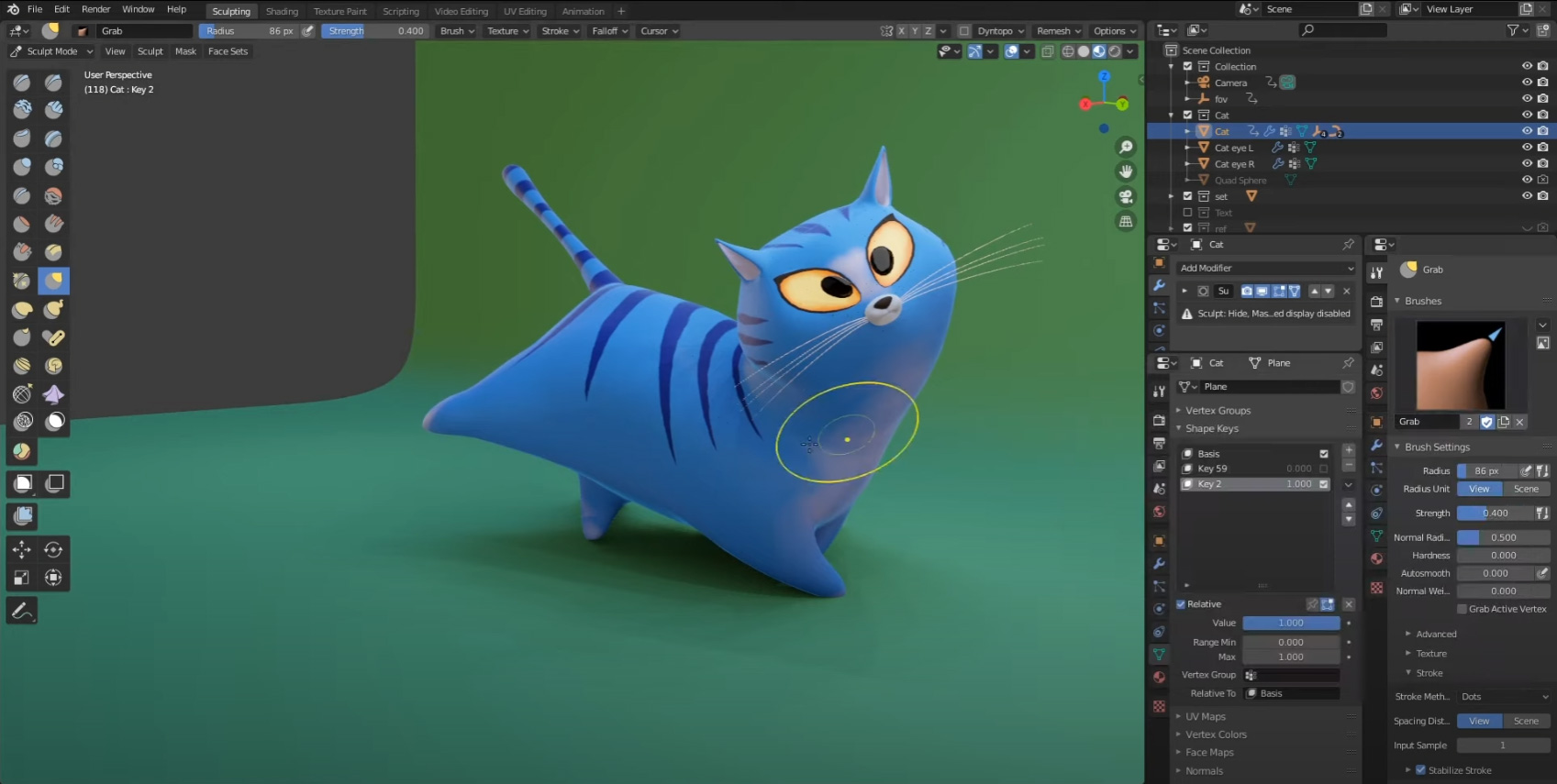 Animating-Without-Rig-in-Blender