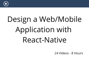 Design a web and mobile apps with react native