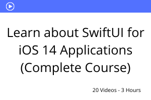 Learn about SwiftUI for iOS 14 Applications