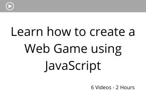 Learn how to create a web game using