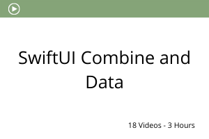 SwiftUI Combine and Data
