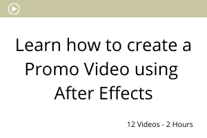 how to create a promo video using After Effects